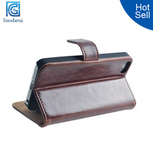 Bookstyle Leather Wallet Stand Case for Apple iPhone 5c Cover Luxury Vintage