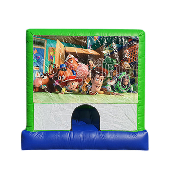 Factory Sales Cheap Kids Inflatable Moonwalk Jumping Bouncy Castle Bouncer Playhouse Jump Bounce House For Sale