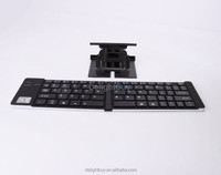 aluminum Folding Portable Wireless Bluetooth Keyboard For Tablet iPhone iPad Android