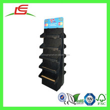 E0058 Shenzhen Factory Supplier New Designs Double Sided 10 Movable Cardboard Book Shelf