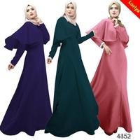 new design long sleeve abaya dress manufacture directly sale
