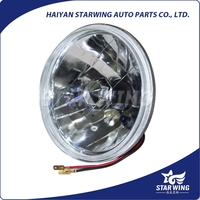 bmc crystal 7inch round auto semi sealed beam headlight with h4 auto lamp