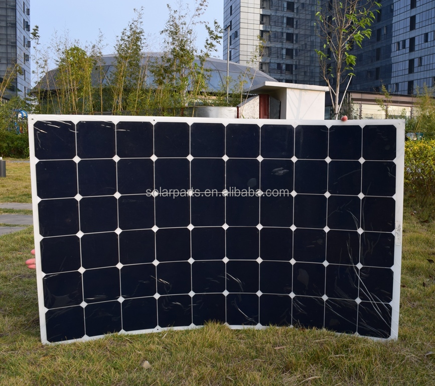180W Factory Directed Supply High Efficiency Flexible Solar Panel