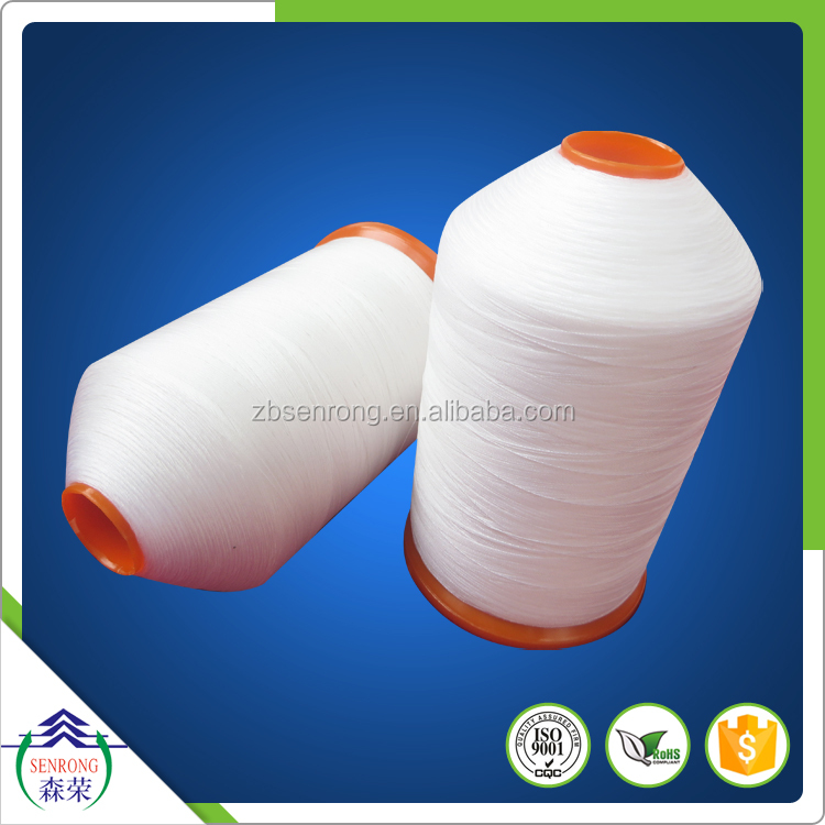 top quality 100% virgin white PTFE sewing thread and ptfe yarn