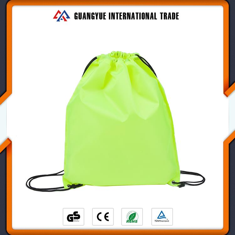 Guangyue China Manufacturers Cheap Polyester Multicolor Small Drawstring Bag