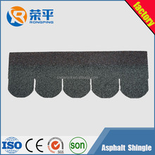 stone coated tile/green asphalt shingle roofing for Thailand /5-tab shingle