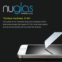 2014 New cheap price 9h explosion-proof tempered glass screen protector for iphone 5 5s 5c