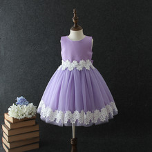 New Fashion Flower Girl Dress Party Birthday wedding princess Girls dresses