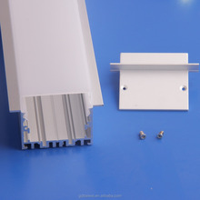 suspension/clip LED linear light casing,aluminum,frosted cover,fittings,accessories