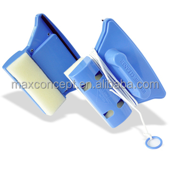 Magnetic window cleaner for double glaze