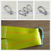 Alibaba express stainless steel safty lanyard carabiner with screw DIN5299