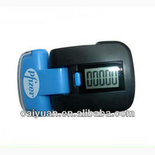 Large size fitness body building 2 in 1 pedometer instruction with torch