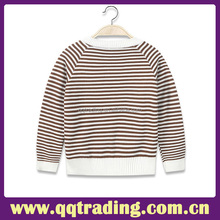 Children clothing Soft and comfortable knitted sweater boys' striped pullover