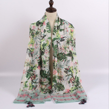China Wholesale High Quality Fashion Printing Travel Beach Shawl
