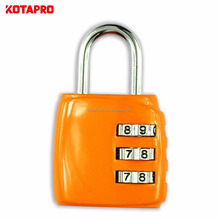 cheap price luggage security safe padlock combination lock