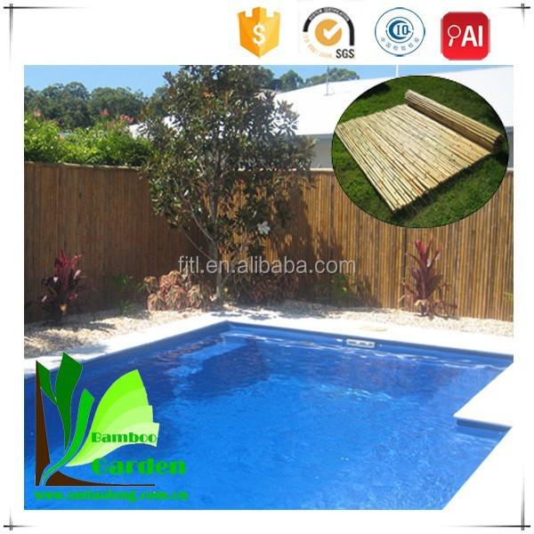 Bamboe riet hek deksel hekwerk trellis en poorten product id 1195215593 - Bamboe hek ...