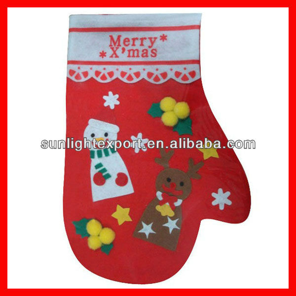 funny decorative christmas sock gift 2013