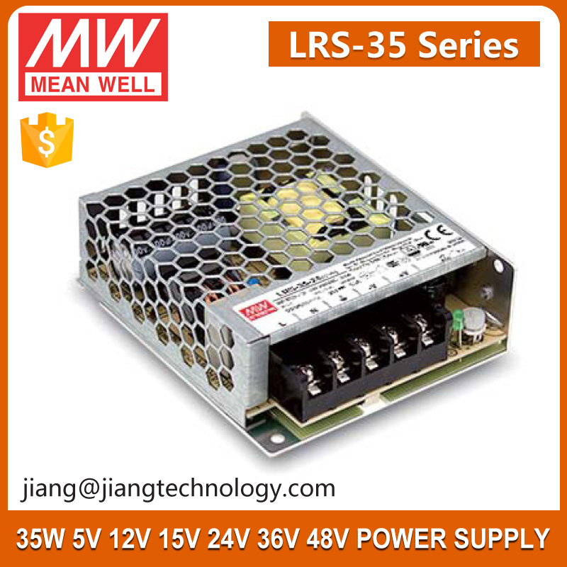 Meanwell 35W 48V Switch Power Supply LRS-35-48 NEW Products ROHS Approved