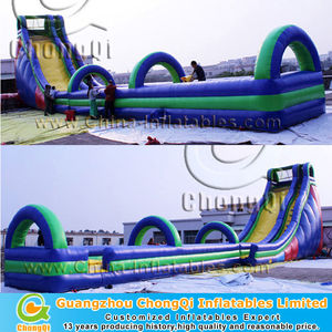 attractive large water slide/long water slide for sale