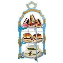 NEW British Vintage Regal 3-tier Reversible Sandwich & Cupcake Stand