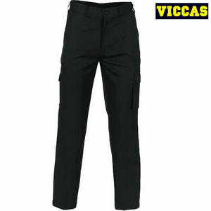 Men's Pure Cotton Cargo Six Pocket Pants