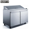 Stainless Steel Single-temperature Style and Display Cooler Type refrigerated salad bar
