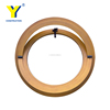pvc frame round window round opening window jalousie glass window