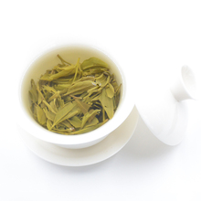 Zhejiang best green tea brand West Lake Dragon Well organic green tea pack in loose