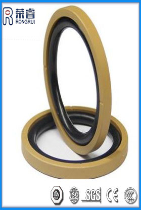 PTFE+NBR Sitefeng Seal for Piston and Rod Seal