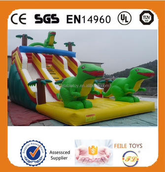 wow!!!2015 new style giant inflatable slide for sale