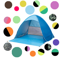 Fully automatic free construction Anti-UV camping tent OEM logo folding tent