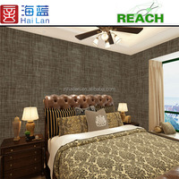 hotel design fabric textile woven pvc coated fabric custom vinyl stickers wallpaper