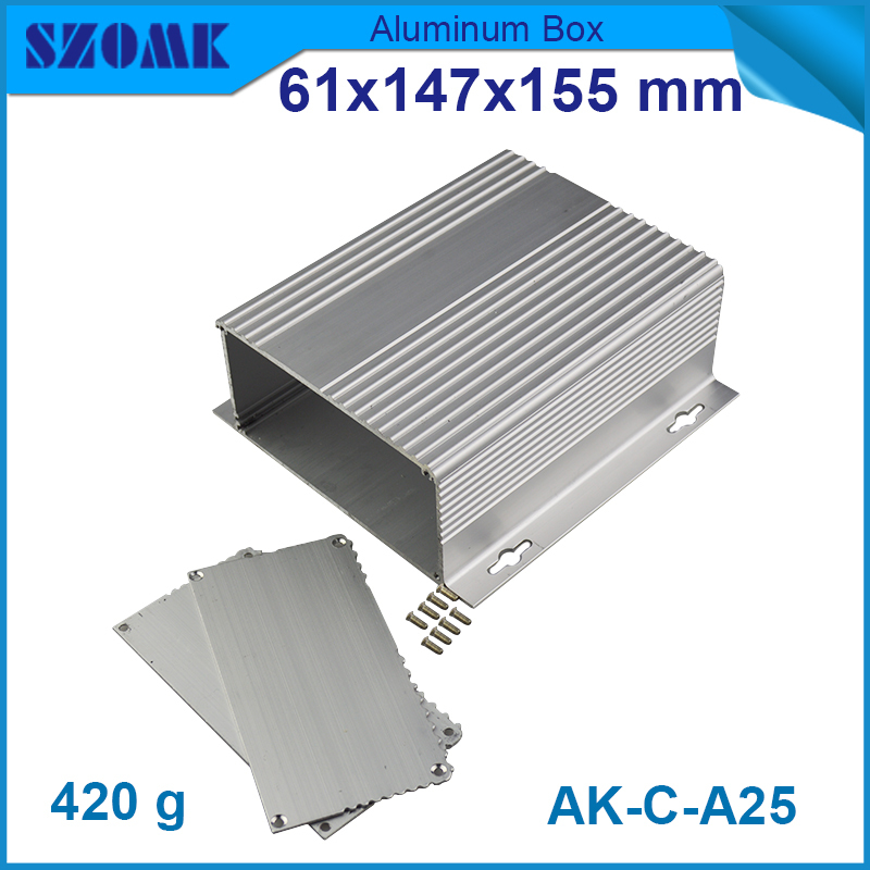 Silver color SZOMK manufacture for new design electrical panel 61x147x155mm