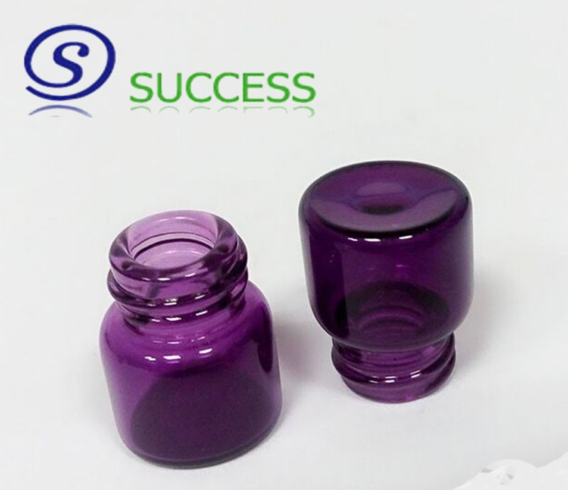 1ml small glass container 1ml glass sample bottle with screw cap