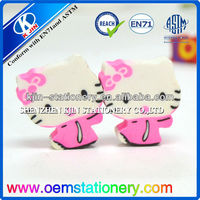 Custom shape eraser/hello kitty easer