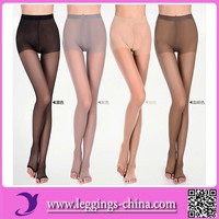 2015(XR8963) Hot Selling Sexy Style Women Reinforced Toe Pantyhose