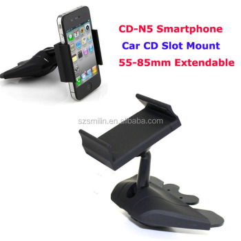 Easy operation Mobile Phone Car CD Mouth Holder CD-N5 Slot Port Mount Bracket for iPhone5s iPhone6 Plus Samsung S2 S5 Smartphone