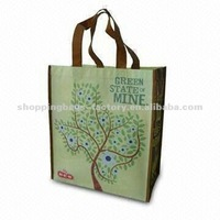 green state of mine promtional non-woven laminate bag(Gre-kbd108)