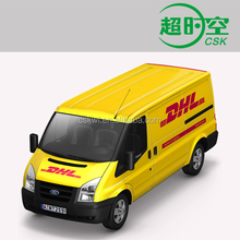 dhl express to sudan
