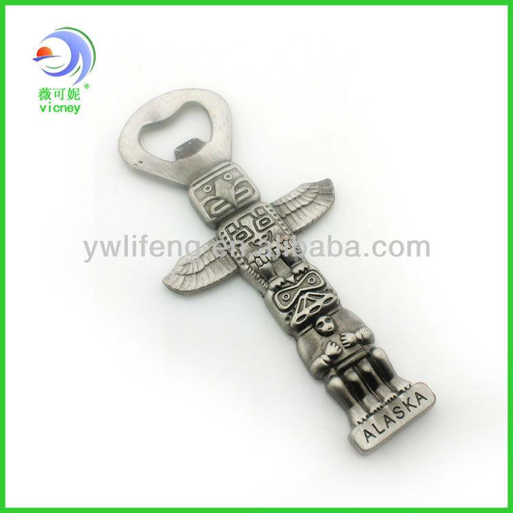 The most popular gift metal souvenir bottle opener