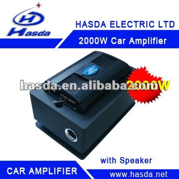 Digital High Power Car Amplifier of 2000W HA-12200A