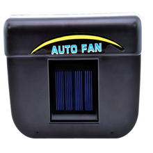 Universal ABS Solar Sun Powered Fan Car Window Windshield Auto Air Vent Cooling Fan System Cooler Window Exhaust Fans