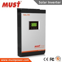 To EURO < MUST POWER >solar factory OEM wholesale 1- 5Kw solar power energy inverter system for pump generator