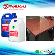 20kg/one Set Transparent Two Part AB Wood Table Epoxy Glue for Surface Coating