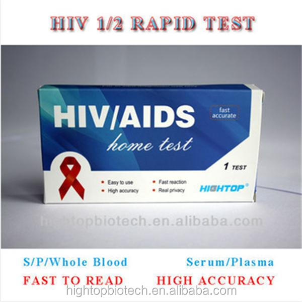 in vitro medic diagnostic hiv test reagents kit
