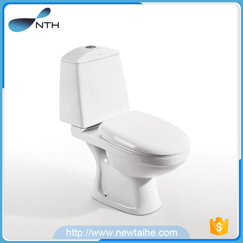 NTH made in china two piece p-trap types of malaysia all brand toilet bowl with water tank