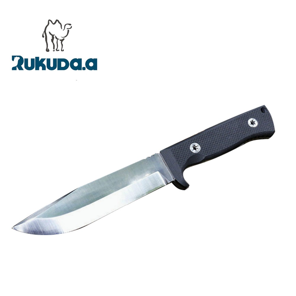 OEM full tang stainless steel knife tools with fixed blade