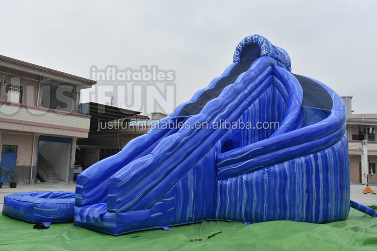 Hippo inflatable water slides with pool for party and events,cheap inflatable slide with prices