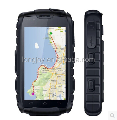 2016 Top Quality IP68 Waterproof Rugged Smartphone 4 inch Quad Core Mobile Phone Built in GPS and Walkie Talkie