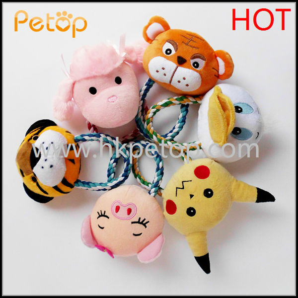 Plush Stuffed Cotton Rope Pet Dog Toys